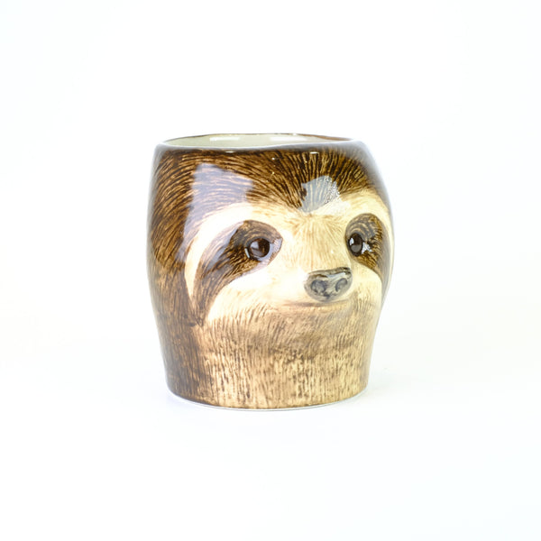 Ceramic 'Sloth' Pen Pot .