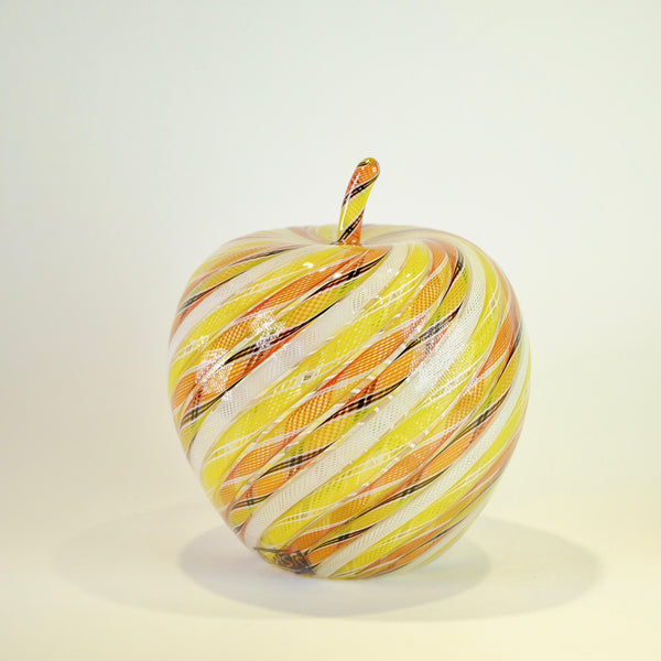 Glass Apple by Michael Hunter for Twists Glass.