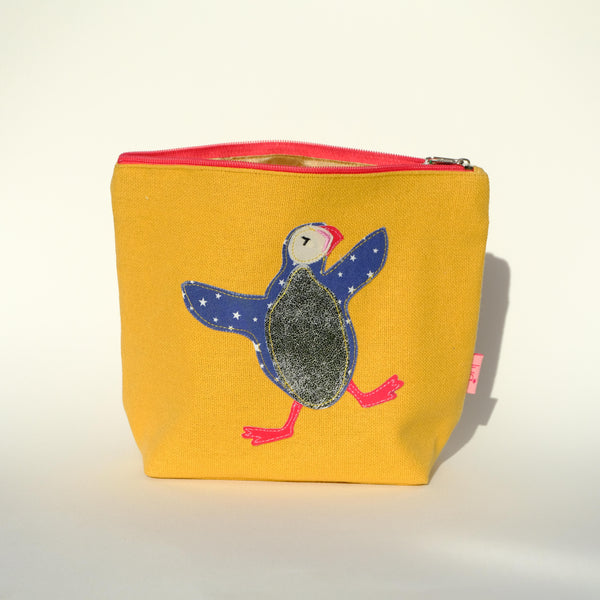 Puffin Make up Bag.