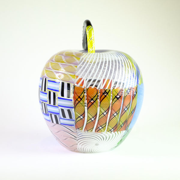 Glass Patch Apple by Michael Hunter for Twists Glass.
