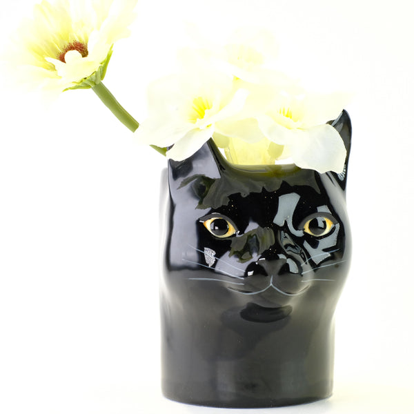 Ceramic 'Lucky Cat' Pot.
