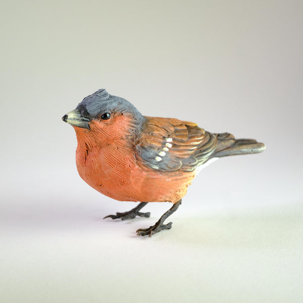 Ceramic Bullfinch by 'Bird Art'