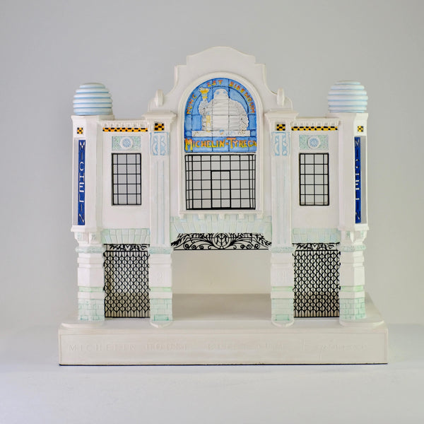 Model of Michelin House by Timothy Richards