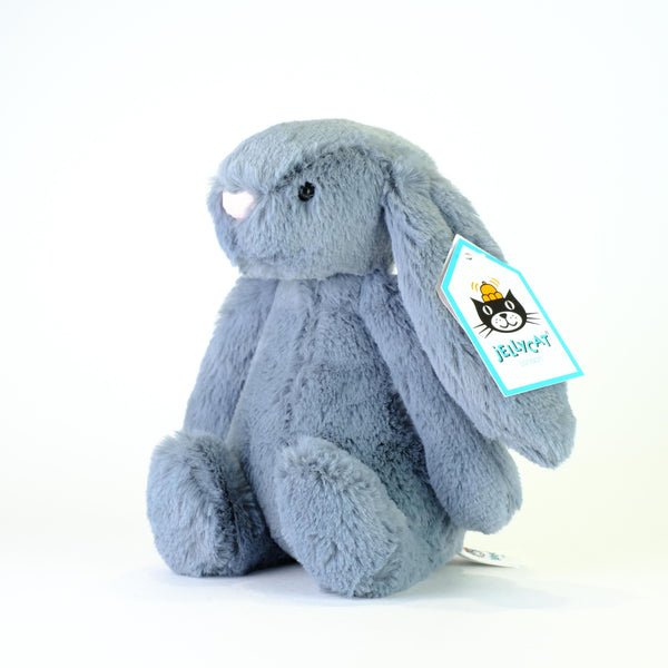Jellycat Small Bashful Dusky Blue Bunny.