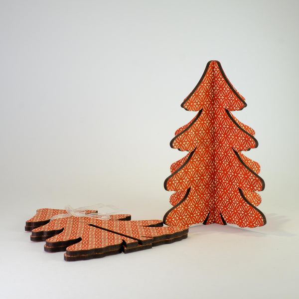 Small Red Slot Christmas Tree.