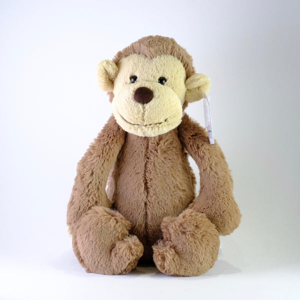 Jellycat Bashful Monkey, Medium.
