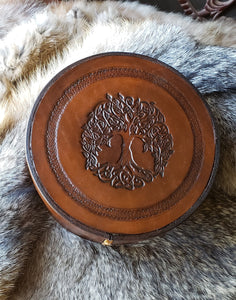 Tree of Life Hand Crafted Leather Box