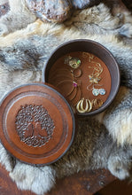 Load image into Gallery viewer, Tree of Life Hand Crafted Leather Box