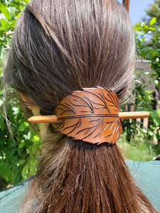 Leaf Hair Slide