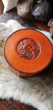 Load image into Gallery viewer, Hummingbird Leather Jewelry Box