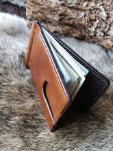 Load image into Gallery viewer, Slim Leather Front Pocket Wallet Money Clip