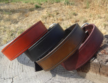Load image into Gallery viewer, Hand Made Leather Dog Collar