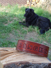 Load image into Gallery viewer, Personalized Leather Dog Collar