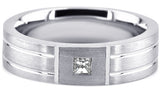 Diamond 14K Wedding Band 14D14