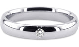Diamond 14K Wedding Band 14D20