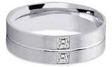 Diamond 14K Wedding Band 14D9