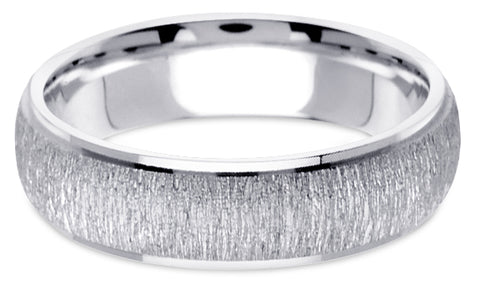 Diamond Cut Platinum Wedding Band PlDC25