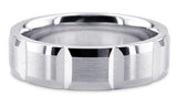 Diamond Cut 14K Wedding Band 14DC26