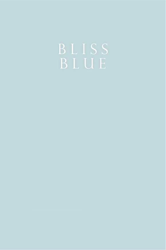 Bliss Blue