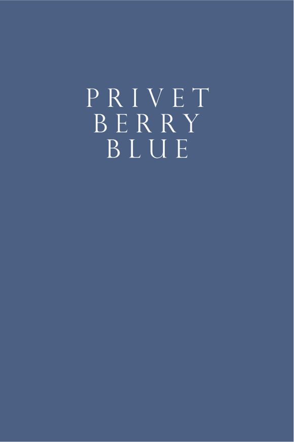 Privet Berry Blue