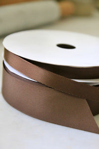 Chocolate Brown Grosgrain Ribbon
