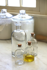 Apothecary Glass Bottles | 3 Sizes