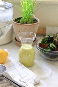 Clear Salad Dressing Carafe