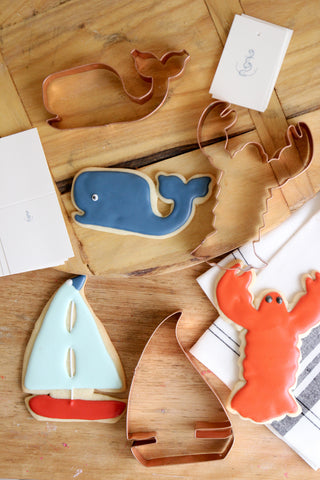 Copper Cookie Cutters - Nautical