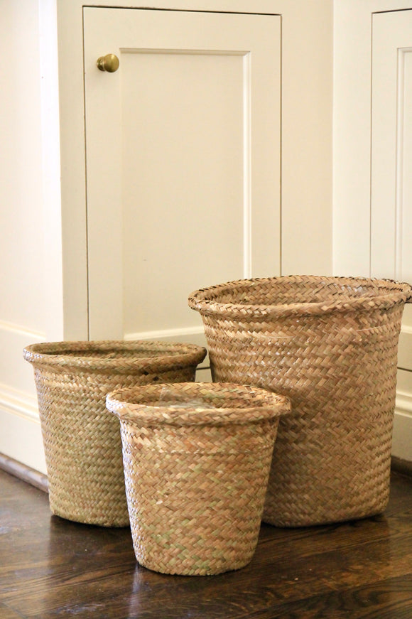 Straw Pot Covers | 3 Sizes