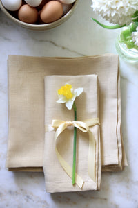 Butter Table Linens