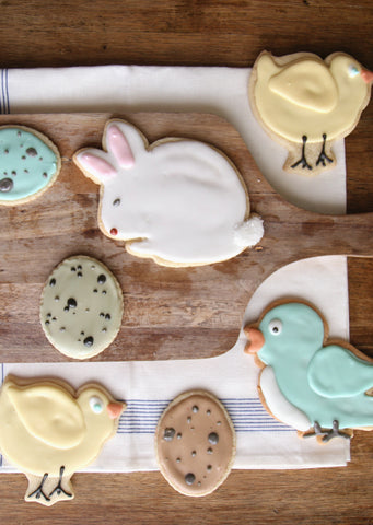 Copper Cookie Cutters - Chick & Egg (sold separately)