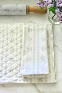 Light Blue Wallpaper Napkins & Placemats
