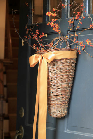 Basket - Willow Hanging