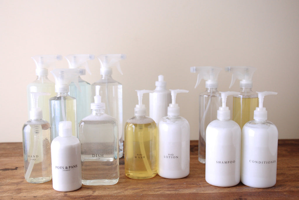 Exceptional Everyday Essential : Shower Bottles