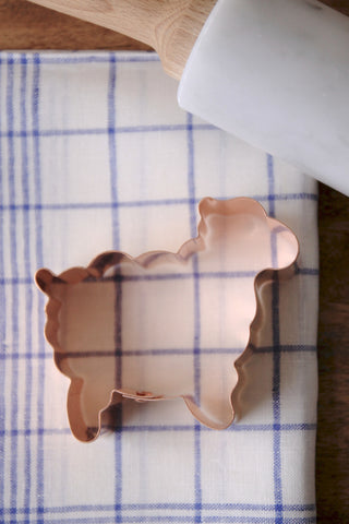 Copper Cookie Cutters - Lamb