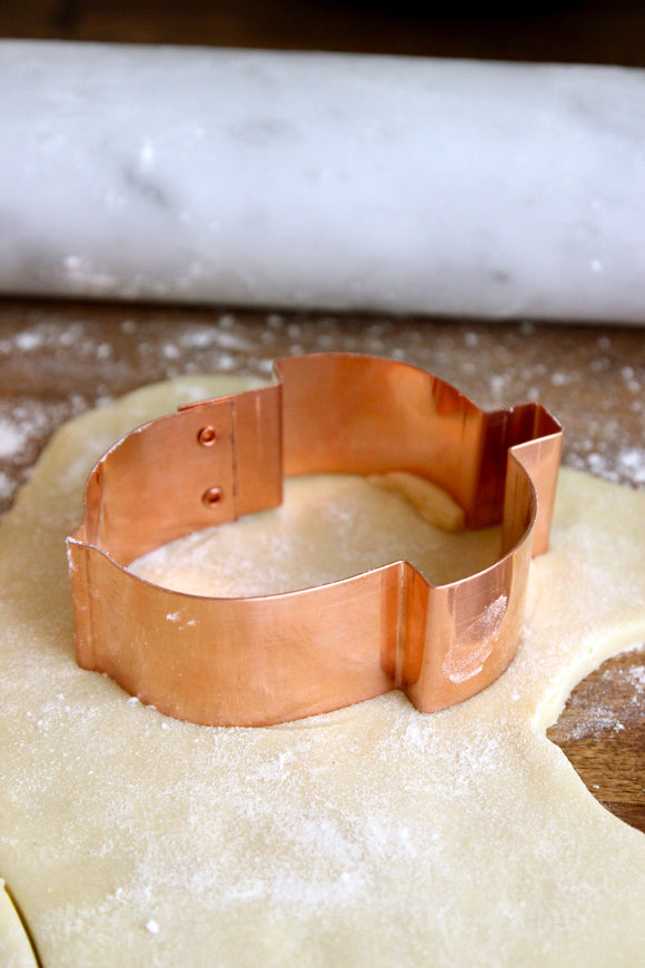 Copper Cookie Cutters - Acorns