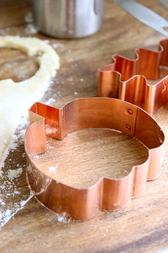 Copper Cookie Cutters - Pumpkin