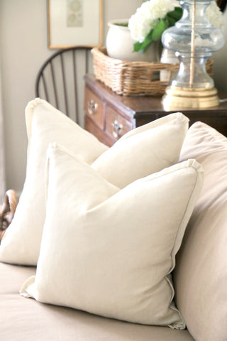 Antique Linen Pillow | 2 sizes