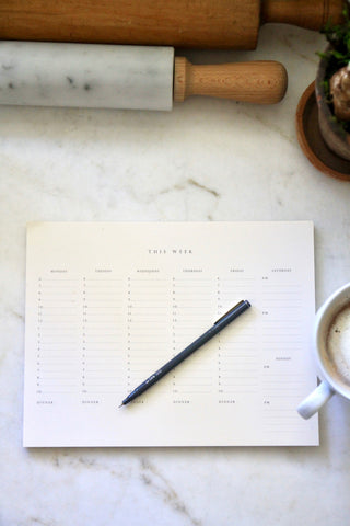 Tablet - Weekly Planner
