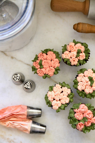 Floral Pastry Tip Set of 5
