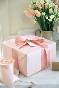 Pink Swiss Dot Wrapping Paper