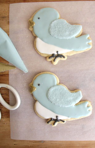 Copper Cookie Cutters - Blue Bird