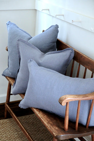 Slate Linen Pillow | 3 sizes