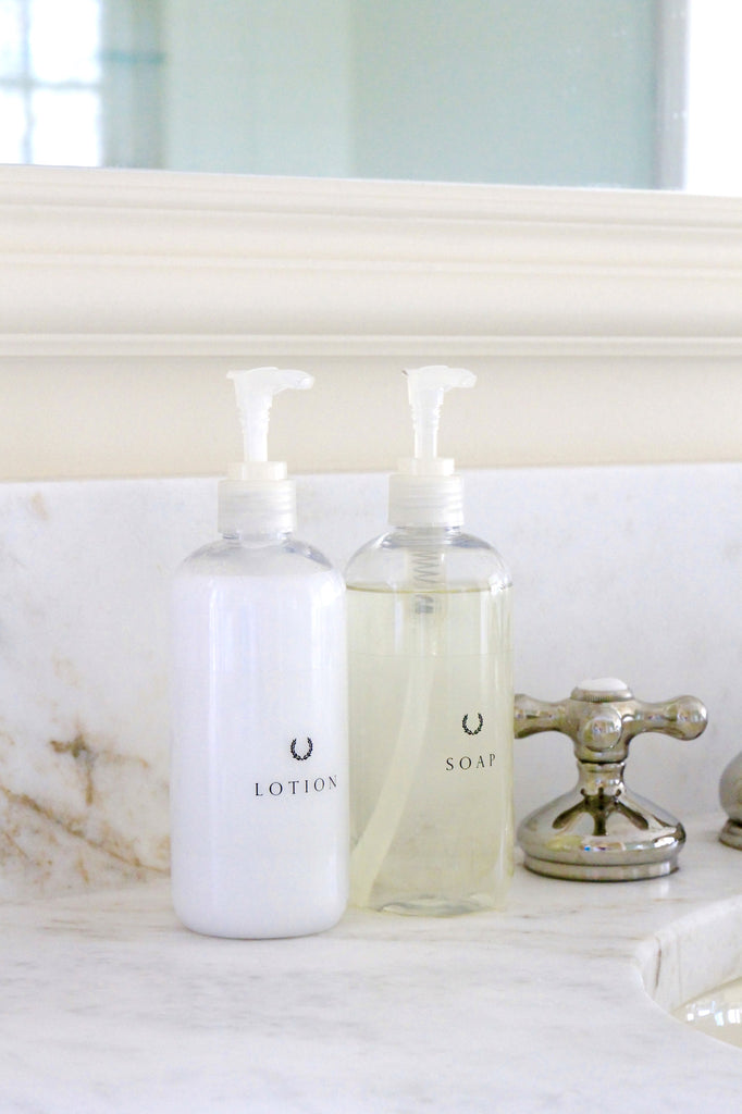 Everyday Essential : Powder Room Bottles