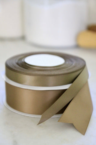 Sable Satin Ribbon