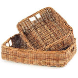 French Basket Trays - Extra Large, Nested Set of 2