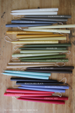 Hand Dipped Taper Candles - Concord Green