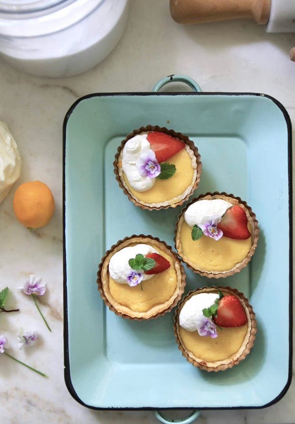 Brown Petite Tart Pans | 2 sizes