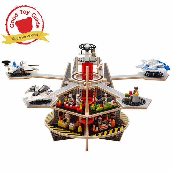 Base Ace Kit 3 with Expansion Platforms - Compatible with LEGO