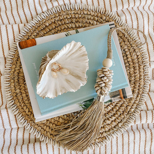 Small Cowrie Shell Tassel